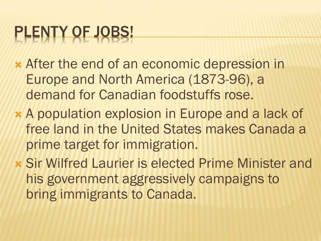PPT - Canada's Immigration history PowerPoint Presentation - ID:2593453