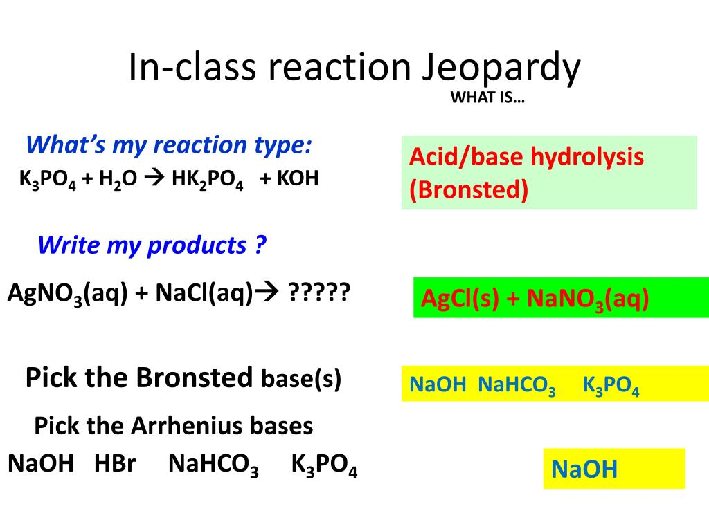 PPT - Acid-Base Theories ( pp 623-625) PowerPoint ...
