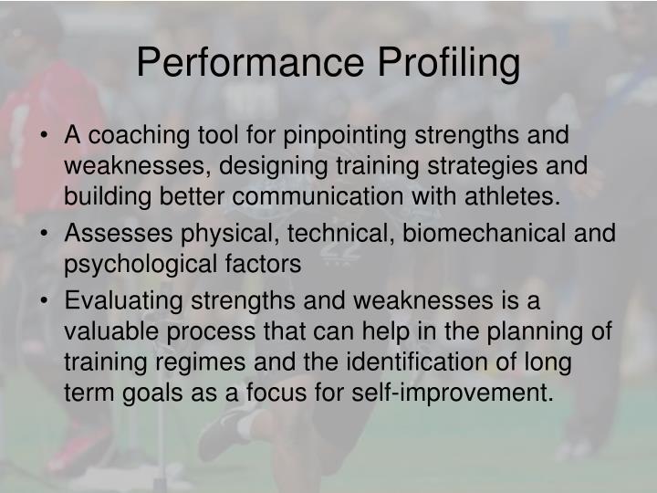 Performance profiling1