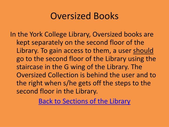 Oversized Books
