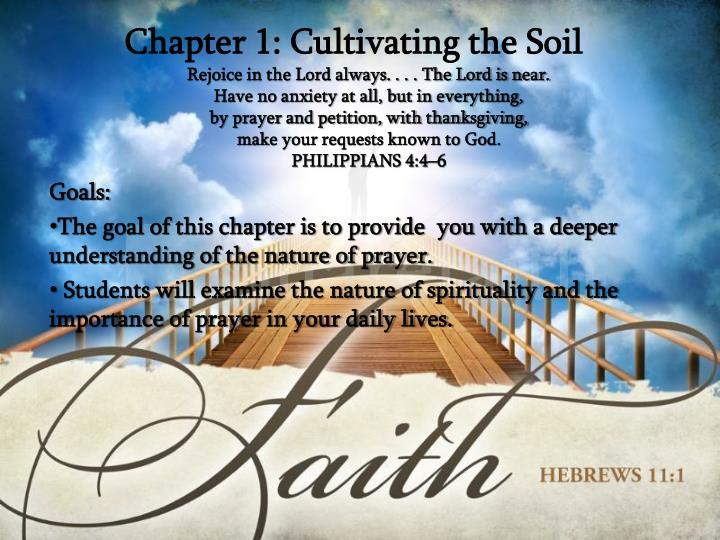 chapter 1 cultivating the soil n.