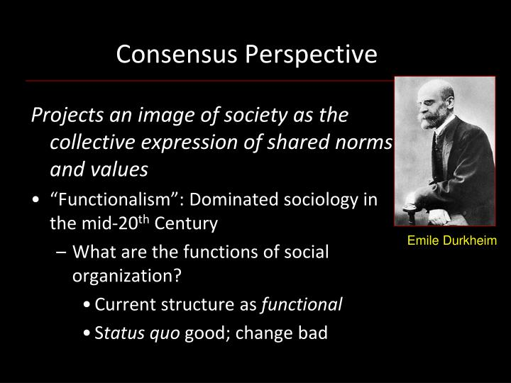 consensus perspective