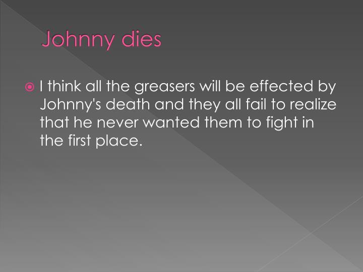 Johnny dies