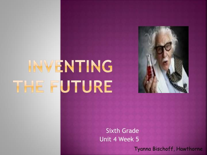 inventing the future n.