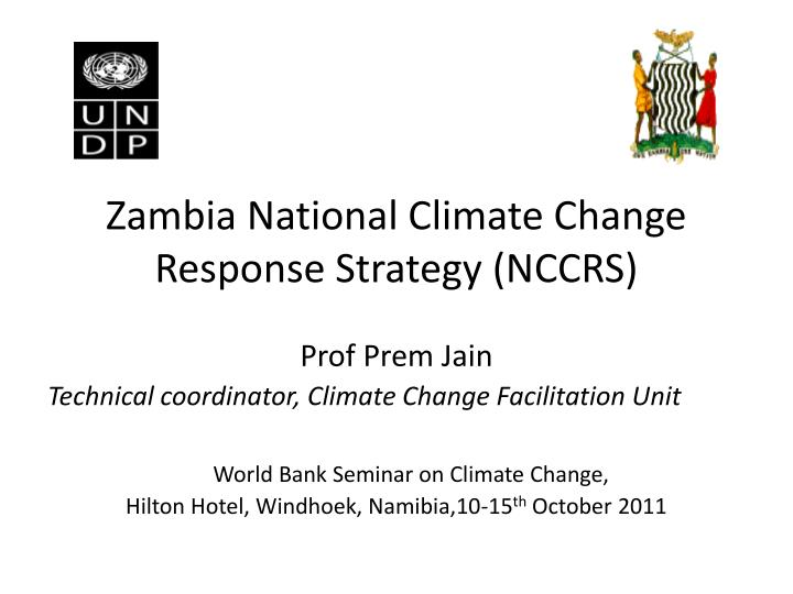 zambia national climate change response strategy nccrs n.