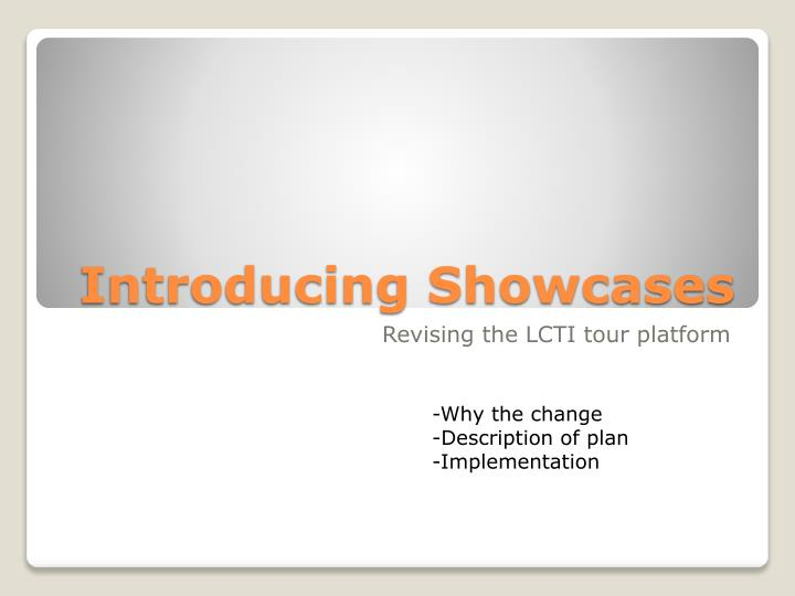 introducing showcases n.