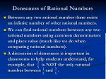 denseness of rational numbers1