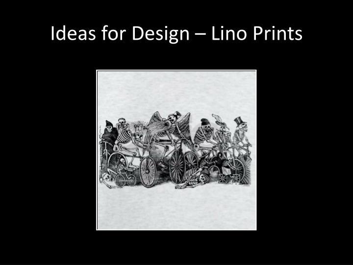 Ideas for Design –