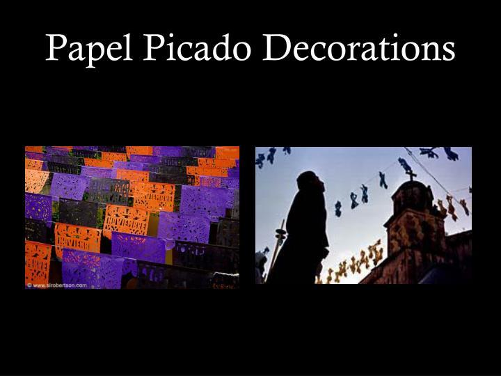 Papel Picado Decorations