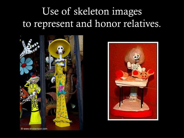 Use of skeleton images