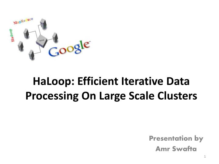 haloop efficient iterative data processing on large scale clusters