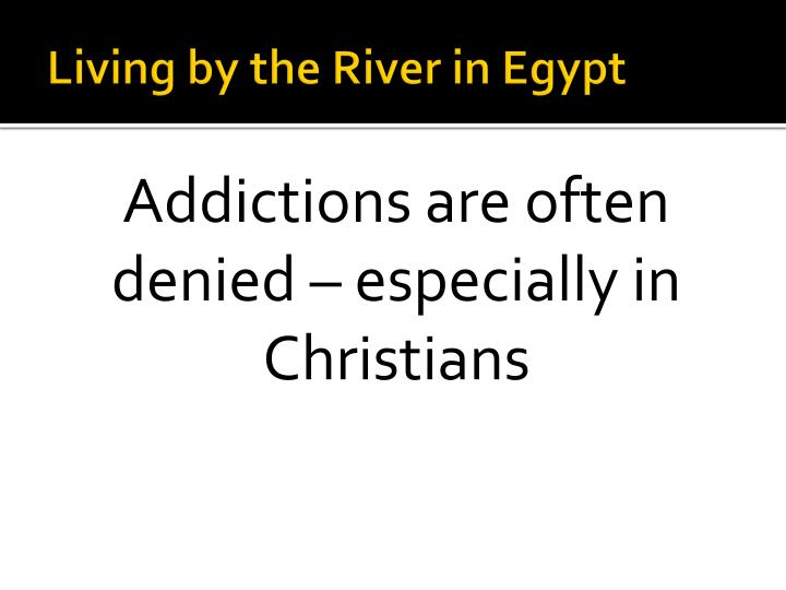 Living by the River in Egypt