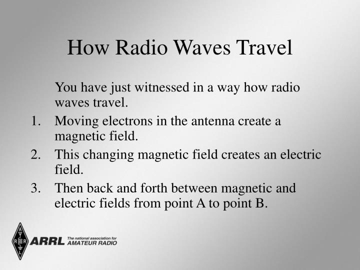 How Radio Waves Travel