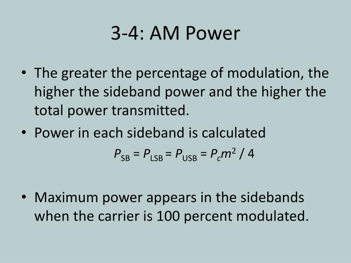 3-4: AM Power