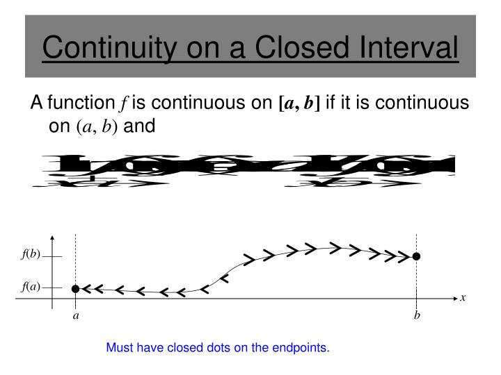 Continuity on a Closed Interval