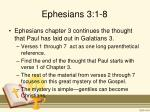 ephesians 3 1 8