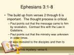 ephesians 3 1 81