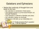 galatians and ephesians