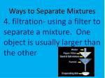 ways to separate mixtures3