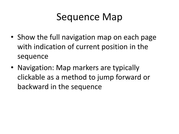 Sequence Map