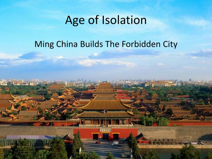 Age of Isolation