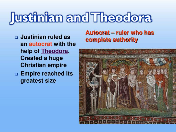 Justinian and Theodora