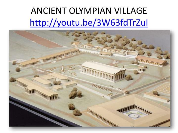 ANCIENT OLYMPIAN