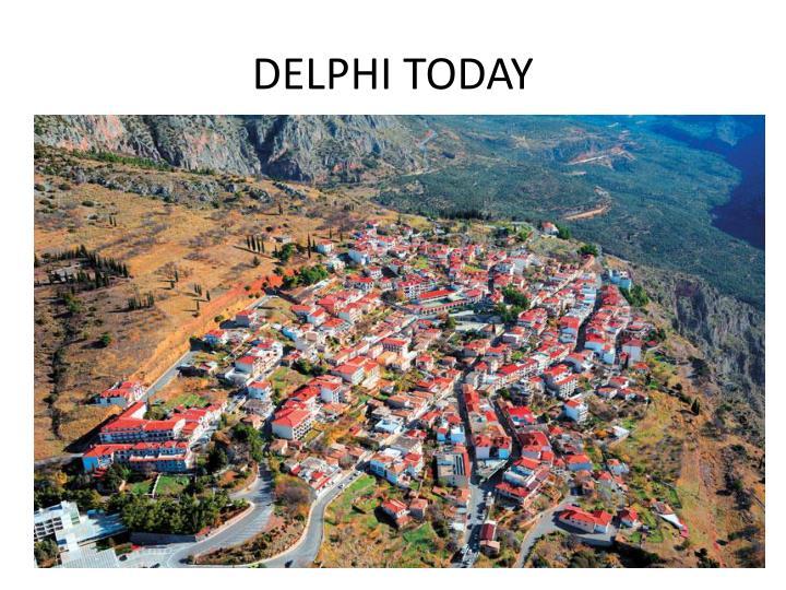 DELPHI TODAY