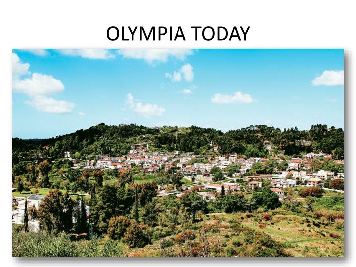 OLYMPIA TODAY
