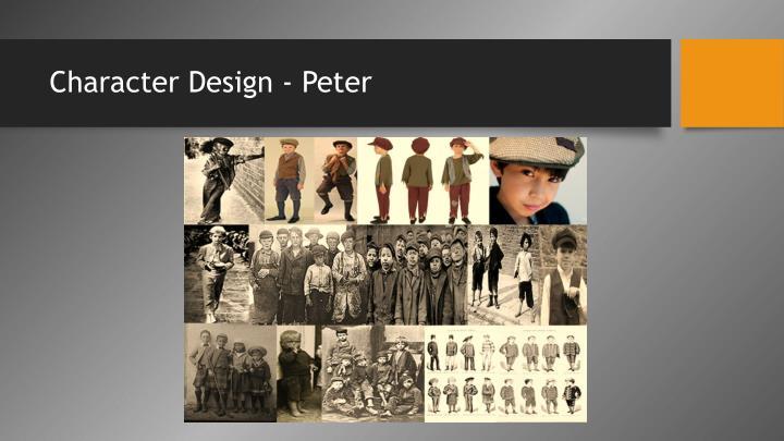 Character Design - Peter