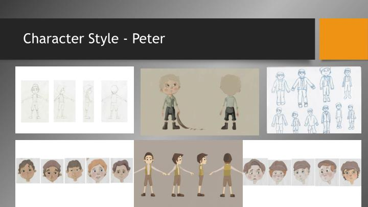 Character Style - Peter