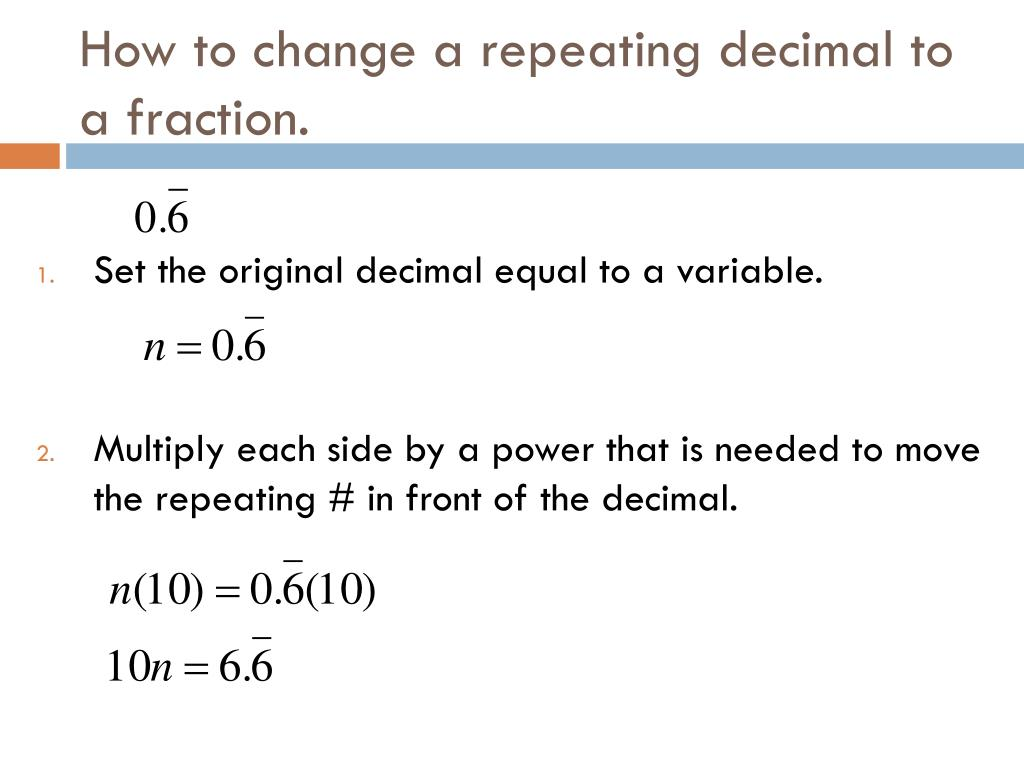 Ppt Decimal To Fraction Conversion Powerpoint Presentation Free Download Id 2597661