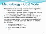 methodology cost model