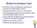 model curriculum units1