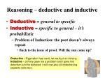 reasoning deductive and inductive