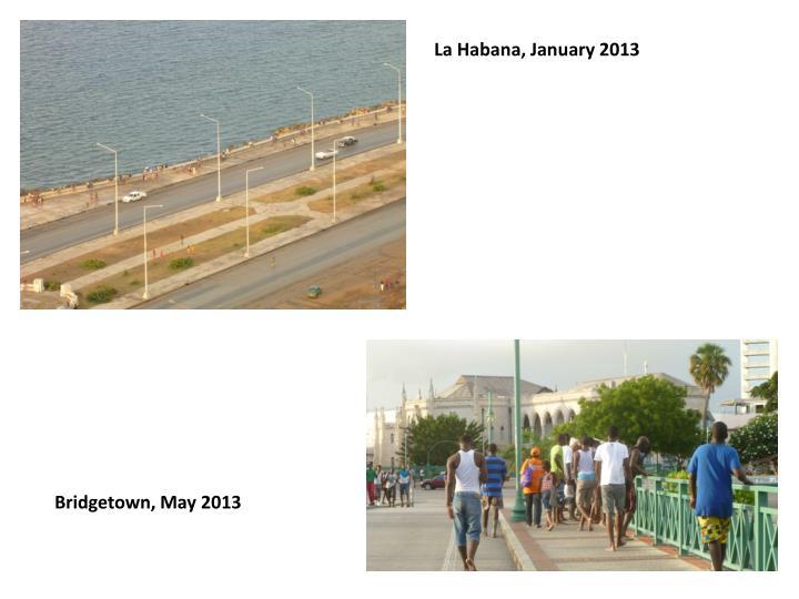 La Habana, January 2013