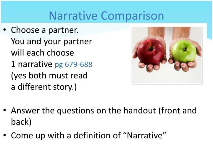 Narrative Comparison