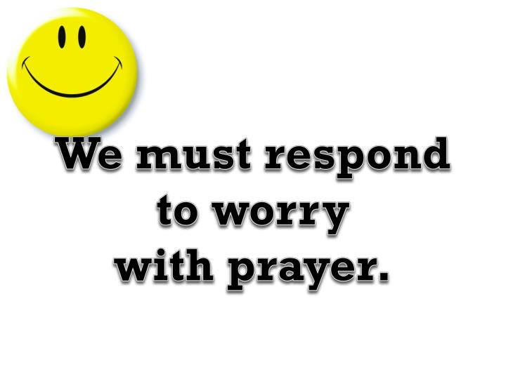 We must respond