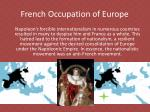 french occupation of europe1