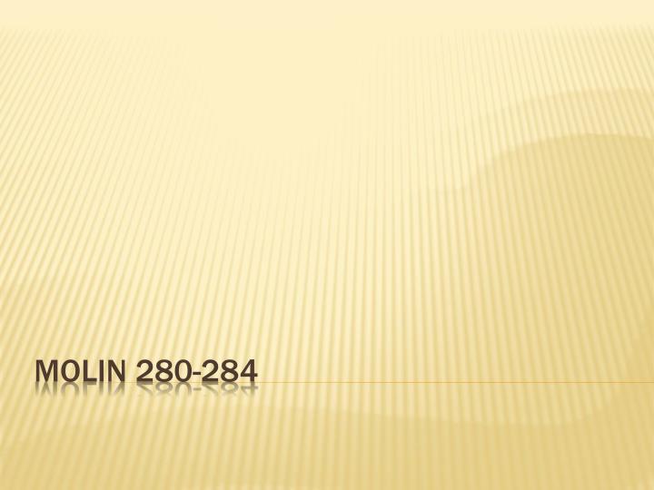 Molin 280-284