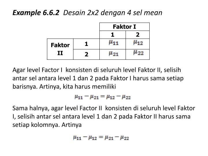 Example 6.6.2
