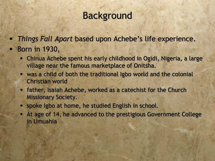 the effect of white missionaries on an african tribe in things fall apart by chinua achebe Things fall apart is the first of three novels in chinua achebe's critically acclaimed african achebe, chinua : things fall apart we white people.