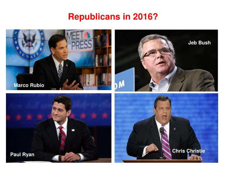 Republicans in 2016?