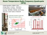 room temperature radio frequency quadrupole rfq