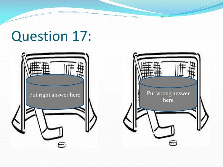 Question 17: