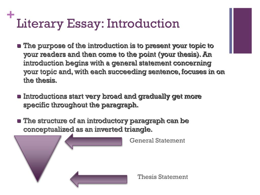 Research Proposal Essay Example  Science Topics For Essays also English Essay Introduction Example Ppt  The  Paragraph Literary Essay Powerpoint Presentation  How To Write A Research Essay Thesis