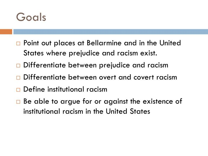 the impact of institutional and systematic racism in the united states