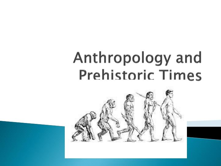 an analysis of the job of anthropologist and the anthropological study