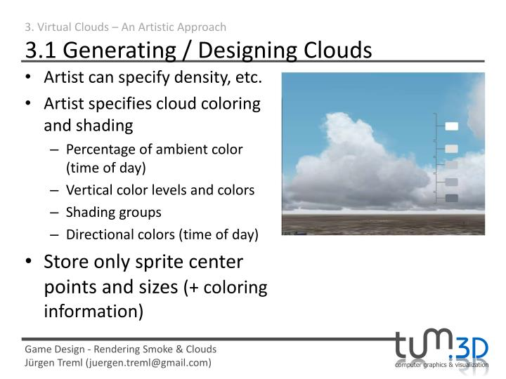 3. Virtual Clouds – An Artistic Approach