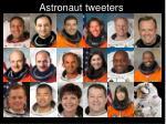 astronaut tweeters